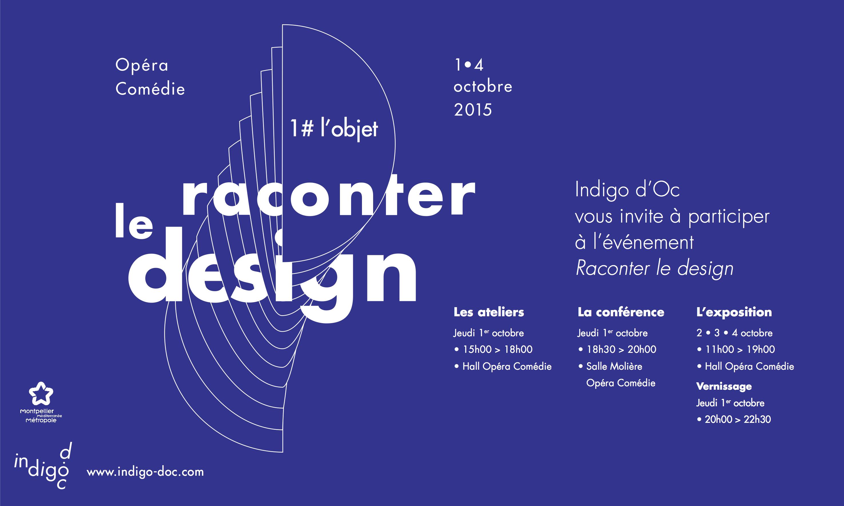 Pilag - Raconter le design affiche