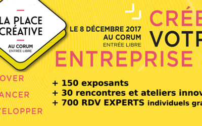 """La Place Créative 2017 : """"rdv experts"""" sur le Design"""