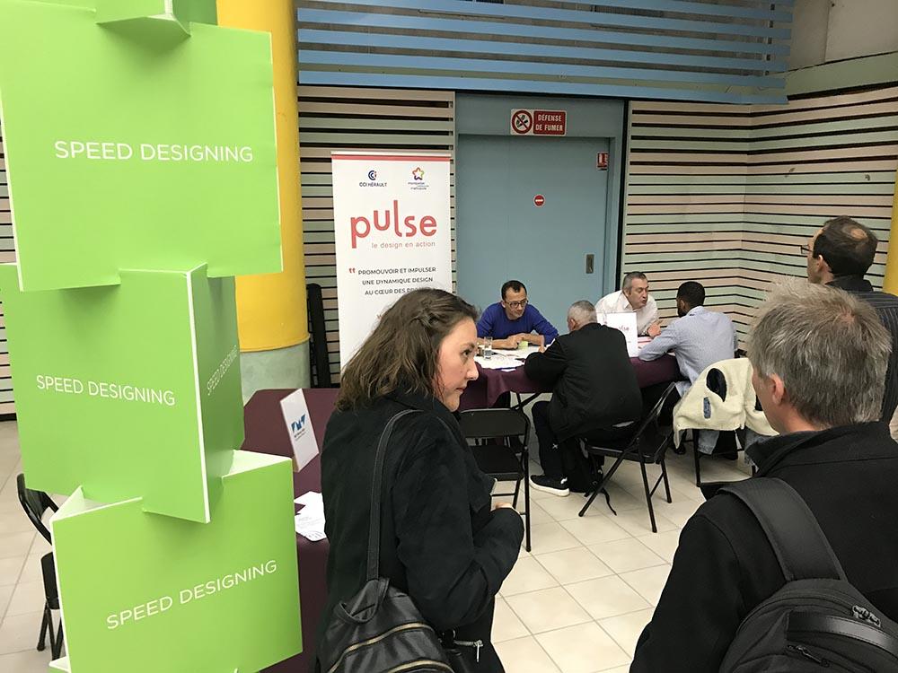 UTNS 2019 Montpellier speed designing pulse pilag